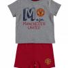 เสื้อผ้าแมนเชสเตอร์ ยูไนเต็ดของแท้ สำหรับเด็กเล็ก Manchester United T-Shirt And Short Set