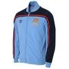 เสื้อแมนซิตี้ เสื้อแจ็คเก็ต แมนเชสเตอร์ ซิตี้ เสื้อรีโทรย้อนยุค ของแท้ 100% Umbro Manchester City Retro 1981 Retro Track Top จากอังกฤษ