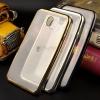 เคส TPU ครอบหลัง ขอบสีไฮโซ Samsung Galaxy J7 Pro