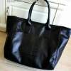 Givenchy black soft leather shoulder handbags