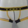 กางเกงในชาย TOOT Boxer Briefs : สีขาว ขอบเหลือง
