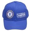 หมวกเชลซี ที่ระลึกแชมป์เปี้ยนส์ 2015 Chelsea Barclays Premier League Winners 2015 Cap - Royal ของแท้