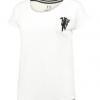 เสื้อแมนเชสเตอร์ ยูไนเต็ดของแท้ สำหรับสุภาพสตรี Manchester United Loose Fit T-Shirt - Snow White - MUN