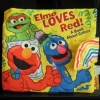 หนังสือผ้าเสริมพัฒนาการเด็ก สอนเกี่ยวกับสี SoftPlay (Elmo loves red) ราคาถูก มือสอง