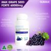 Max grape seed forte 60000mg Nubolic ราคาส่ง xxx นูโบลิกเมล็ดองุ่น ออสเตรเลีย ส่งฟรี EMS