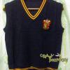 สเวตเตอร์แขนกุด คอวี กริฟฟินดอร์ - Sweater V neck Gryffindor