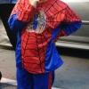 ชุด Spiderman เด็ก ลิขสิทธิ์แท้ รุ่นใหม่ มีไฟกระพริบที่อก