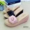 993) รองเท้า Rose' เตารีดพื้น sponge งาน COP CHANEL
