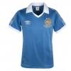 เสื้อ Retro แมนเชสเตอร์ ซิตี้ ของแท้ 100% Manchester City 1981 Centenary FA Cup Final Shirt - Regatta/White เป็นของฝาก ของสะสม ที่ระลึก ของขวัญแด่คนสำคัญ Size: M L