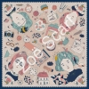 ผ้าพันคอ Zoë Scarf Collection : Londyn Girl