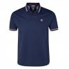 เสื้อโปโล แมนซิตี้ ของแท้ 100% Manchester City Quad Polo Top - Navy จากสโมสรแมนซิตี้ UK สำหรับสวมใส่ เป็นของฝาก ที่ระลึก ของขวัญ แด่คนสำคัญ