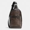 กระเป๋าผู้ชาย COACH CAMPUS PACK IN SIGNATURE F54787 : MAHOGANY