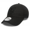 หมวกแมนเชสเตอร์ ยูไนเต็ดของแท้ Manchester United New Era 39THIRTY Stretch Back Cap - Black - Adult