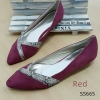 665) Zara Skinny Flat Shoe