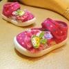 รองเท้าคัชชูผ้าเด็กเล็ก สีชมพู Kitty (เท้ายาว 11-14 ซม.)