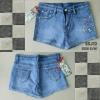 J12) Short Jeans กางเกงยีนส์ Chanel ขาสั้นผ้ายืด