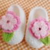 รองเท้าคัทชูดอกไม้ 2 ชั้น