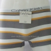 กางเกงในชาย Calvin Klein Boxer Briefs Free Size: สีขาว ลายทางเทาส้ม