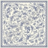 ผ้าพันคอ Zoë Scarf Collection : Provence Romance ( Lace Rim )