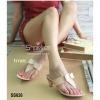 626) รองเท้าทรงคีบรุ่นขายดี มาพร้อมส้นใหม่ล่าสุด งานสวยค่ะ