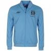 เสื้อแมนซิตี้ เสื้อแจ็คเก็ต แมนเชสเตอร์ ซิตี้ สีฟ้า ของแท้ 100% Umbro Manchester City Football Club Workout Jacket 2012/13 จากอังกฤษ