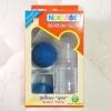ที่ปั๊มนม เก็บลงขวด Nuebabe ปั๊มมือลูกยาง BPA-Free พร้อมจุกนมและฝา