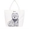 Pre-Order • UK | กระเป๋า Harrods Sketched Westie Canvas Bag