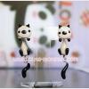 ต่างหูดินปั้น แมววิเชียรมาศ Siamese cat Earrings
