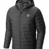 เสื้อแจ็คเก็ตแมนเชสเตอร์ ยูไนเต็ด Columbia Powder Lite Hooded Jacket สีดำของแท้