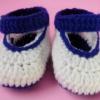 รองเท้าคัทชูแบบสายรัดข้อเท้า