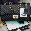 แบรนด์ KEEP รุ่น KEEP shoulder chevon chain handbag
