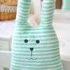 ตุ๊กตา Craft Holic ลายทางสีขาว-เขียว ( size 60cm)