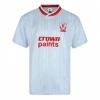 เสื้อเรทโรย้อนยุคลิเวอร์พูล 1987 เสื้อเยือนของแท้ Liverpool FC 1987 Away Retro Football Shirt