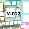 Template photo mix ขนาด 20x24 รหัส M-012