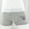 กางเกงในชาย Emporio Armani Boxer Briefs : สีเทา ขอบเงิน EA