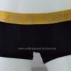 กางเกงในชาย Calvin Klein Boxer Briefs : สีดำ แถบทอง