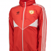 เสื้อแมนเชสเตอร์ ยูไนเต็ดย้อนยุค Manchester United Originals Windbreaker Red