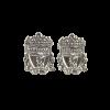 ตุ้มหูเงินลิเวอร์พูล ของแท้ 100% Liverpool FC Sterling Silver Crest Earrings