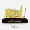 ของที่ระลึกไทย ที่เสียบปากกาพร้อมใส่นามบัตร ลวดลายเอกลัษณ์ไทย ปั้มลายเนื้อนูน สินค้าบรรจุในกล่องมาให้เรียบร้อย สินค้าพร้อมส่ง