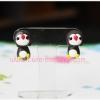 ต่างหูดินปั้น เพนกวิน Cute penguin Earrings