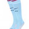 ถุงเท้าแมนเชสเตอร์ ซิตี้ 2017 2018 ทีมเหย้าของแท้ Manchester City Home Stadium Socks 2017-18