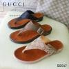 917) รองเท้าสุขภาพ ลาย GUCCI Flat shoe