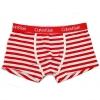 กางเกงในชาย Calvin Klein Boxer Briefs : ลายทางขาว-แดง