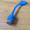 สายแปลง 20 Pin USB3.0 to USB 3.0 Female 1หัว