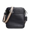 พร้อมส่ง กระเป๋าผู้ชาย COACH รุ่น FLIGHT BAG IN SMOOTH LEATHERHT BAG F71723 : MIDNIGHT