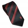 เนคไทแมนเชสเตอร์ ยูไนเต็ด Manchester United Black with Red Stripes Tie ของแท้ 100%
