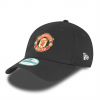 หมวกที่ระลึกแมนเชสเตอร์ ยูไนเต็ดของแท้ Manchester United New Era Basic 9FOURTY Adjustable Cap - Black - Adult