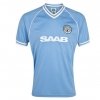 เสื้อ Retro แมนเชสเตอร์ ซิตี้ ของแท้ 100% Manchester City 1982 S/S Home Shirt SAAB เป็นของฝาก ของสะสม ที่ระลึก ของขวัญแด่คนสำคัญ Size: S L XL XXL