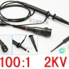 High-Voltage Probe for Oscilloscope