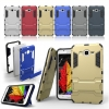 Rugged Hybrid Dual Layer Armor Kickstand Case Cover For Samsung Galaxy J7 J700